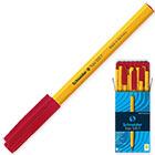 Ручка шариковая красная Schneider Tops 505 0.3 мм Корпус оранжевый